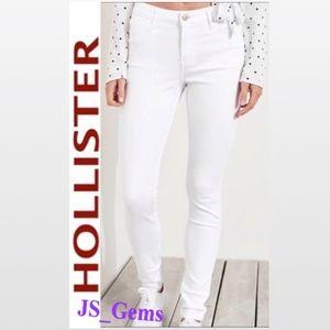 Low Rise Skinny Denim Jeans